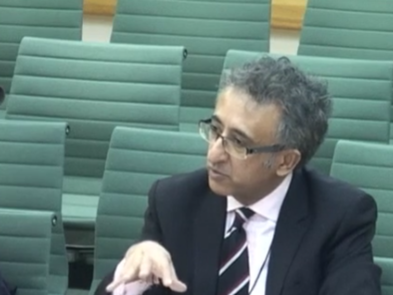 Shamit at select committee 2