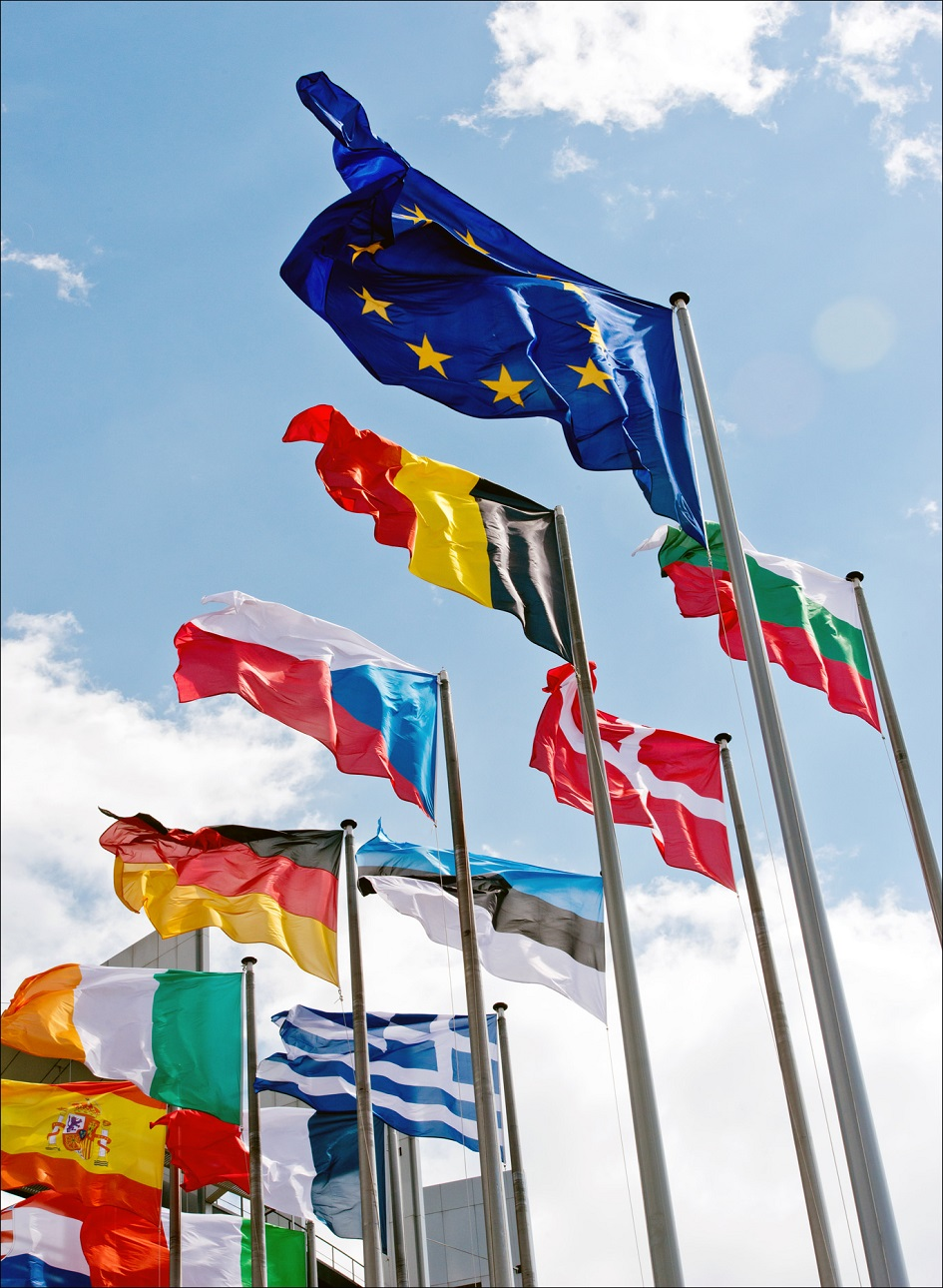 Eu flags credit european union 2014   european parliament