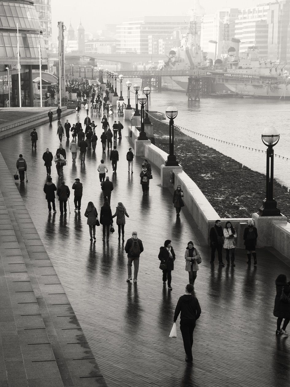 London commuters credit keith ellwood